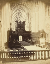 Gloucester Cathedral, Choir, Looking West